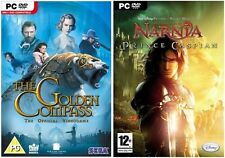 the golden compass & narnia prince caspian     new&sealed