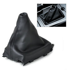PU LEATHER BLACK SHIFT BOOT GEAR GAITER Cover FOR Mazda 6 M6 2002 2003 2004-2007