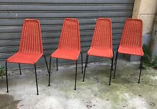 Basket Chairs Gian Franco Legler set of 4