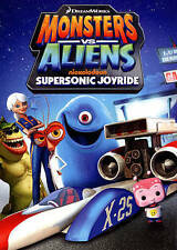 Monsters vs. Aliens: Supersonic Joyride (DVD, 2014)