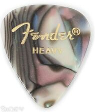 Fender Premium Celluloid Heavy Guitar Picks - 12-pack Abolone heavy