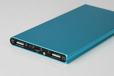 20000mAh Power Bank LED 2 USB Battery Charger For Mobile Phone For Samsung Blue