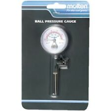 Molten PG Standard Ball Pressure Gauge with Built-in Release Valve for any sport