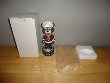 COCO THE BEAR Promotional 2-27-05 HERSHEY BEARS Bobblehead with Box *NEW*