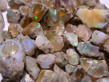Opal crystal Welo Ethiopia precious fire10 carat lots 8-15 MM 1 to 4 pieces