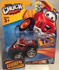 "New Tonka Chuck & Friends ""BIGGS"" THE MONSTER TRUCK Die Cast Twist Trax Hasbro"