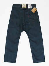 Levis mens 30w short leg 30L loose fit low crotch mens indigo jeans