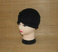 Stretchy Turban Head Wrap Band Chemo Bandana Hijab Pleated Indian Caps Women Men