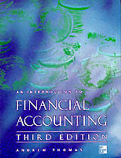 Thomas, Andrew, Rickwood, Colin An Introduction to Financial Accounting Very Goo