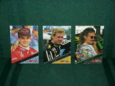1994 HIGH GEAR ~3 CARD PROMO~ COMPLETE SET *JEFF GORDON, RUSTY, KYLE PETTY*