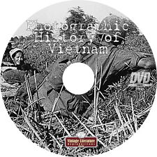 Photographic History of the Vietnam War { Maps Documents Photos } on DVD