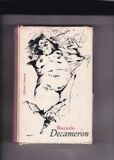 DECAMERON - BOCCACCIO - LATERZA CON COFANETTO - 1963 (A2)