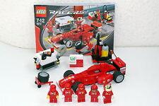 Lego Racers Ferrari 8673 Ferrari F1 Fuel Stop vom Händler