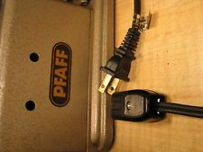 PFAFF Sewing Power Cord - Fits vintage Models: 230, 260, 332, 362..and MORE