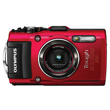 New Olympus Stylus Tough TG-4 16MP Waterproof Digital Camera Red + Free Express