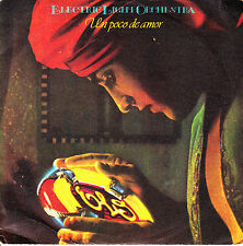 "7"" ELO un poco de amor shine a little love SPAIN 1979 ELECTRIC LIGHT ORCHESTRA"