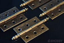 4 Antik-Scharniere für Schmuckkästchen 55mm Alt Antik, Schatulle Schatztruhe DIY