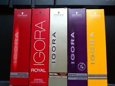 40 x ALL TUBES Schwarzkopf Igora Royal Permanent Hair Color 60ml