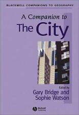 A Companion to the City (Blackwell Companions to Geography)