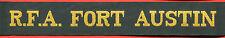 █► Königliche Marine mützenband Royal Navy cap tally hat ribbon 1980 (6)