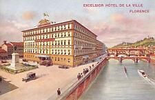 CPA ITALIE EXCELSIOR HOTEL DE LA VILLE FLORENCE