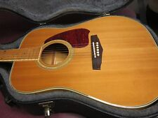 Ibanez PF75M Acoustic Guitar With TKL Hard Case