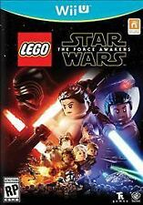 LEGO Star Wars: The Force Awakens Nintendo Wii U SEALED New! FREE Ship!