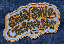 The Beach Boys • Smiley Smile • Embroidered Patch • Iron On • Vintage Style