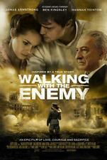 "WALKING WITH THE ENEMY - 11""x17"" Original Promo Movie Poster 2014 MINT Rare"