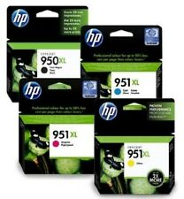 HP 950XL 951XL Combo Pack 4 Genuine INCHIOSTRO CARTUCCE PER Officejet Pro 8100 8600