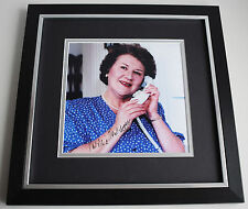 Patricia Routledge SIGNED Framed LARGE Square Photo Autograph display TV & COA
