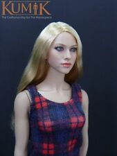 "1/6 Kumik femal KM-048 hair Head carving Sculpt Amanda Seyfried for 12""figure UK"