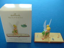 Tink and the Fairy Journal - 2012 Hallmark Christmas ornament in original box