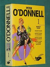 Peter O'DONNELL intégrales Le Masque T. 1 Modesty Blaise
