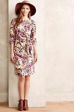 NWT Anthropologie Equinox Floral Dress by Lavand Petite XSmall