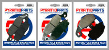 Kawasaki Z 750 04-06 Front & Rear Brake Pads Full Set (3 Pairs)