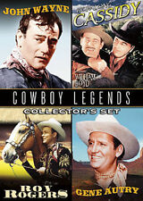 Cowboy Legends Collector's 2 DVD'S Wayne Rogers Autry Cassidy so cheap 9 MOVIE