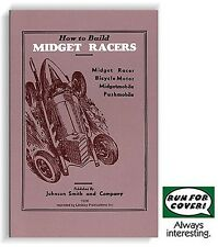 How to Build Midget Racers (Lindsay how to book)