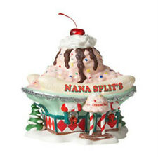 DEPT 56 NORTH POLE 2012   NANA SPLIT'S ICE CREAM PARLOR