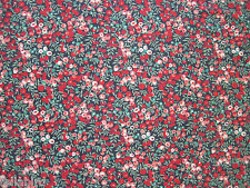 "LIBERTY OF LONDON KINGLEY CORD DESIGN ""Wiltshire Berry"" 2.3 METRES x 1.40 METRES"