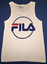 VINTAGE FILA MENS TANK TOP T SHIRT SIZE S SMALL