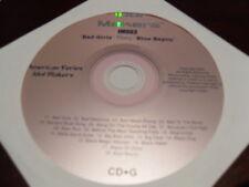 IDOL MAKERS KARAOKE IM003 BAD GIRLS THRU BLUE BAYOU CD+G