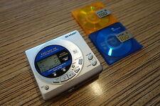Sharp MiniDisc Lecteur Enregistreur mt15/top sound MD périphérique (387) pour AA Batterie