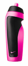 Nike Sport Water Bottle 600ml   Pink Pow/Black