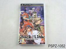 .hack//Link PSP Japanese Import Portable dot hack Japan JP US Seller A