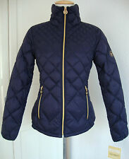 MICHAEL KORS Daunenjacke Damen Lightweight Packable Down Navy Gr.XL NEU+ETIKETT