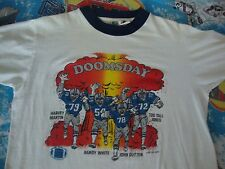 Vintage NFL DALLAS COWBOYS 1982 DOOMSDAY DEFENSE Randy White RARE T SHIRT size M