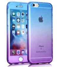 360 Silicone Protective Clear Case Cover Apple iPhone 7 6s plus 5 Shockproof 5 +
