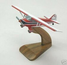 BC-12 Taylorcraft BC12D Private Airplane Wood Model Small New