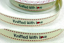 -:- Knitted With Love -:- Bertie's Bows Ribbon - 16mm -  Crafts, Labels, etc...